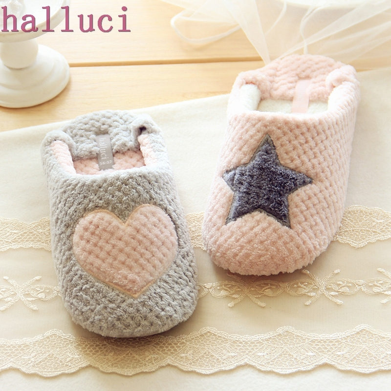 где купить Women Home Slippers Warm Winter Cute Indoor House Shoes Bedroom Room For Guests Adults Girls Ladies Pink Soft Bottom Flats по лучшей цене