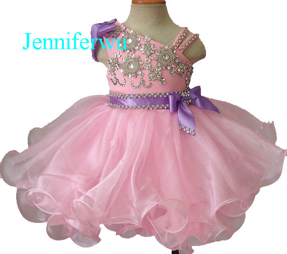 girl brand clothes prom dresses pageant party dresses clothes baby girl 1T-6T G199-1