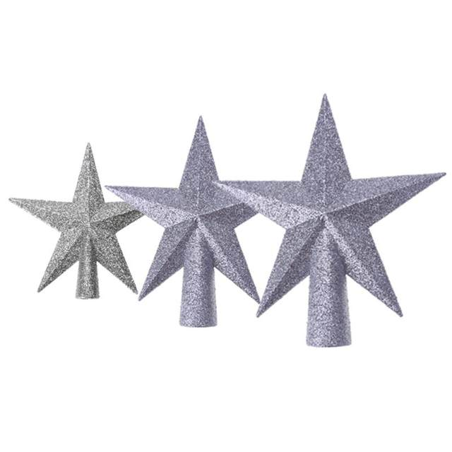 Christmas Tree Top Stars Pine Garland Sparkle Ornament Christmas Decoration for home Christmas Tree Ornament Topper Party Decor 21