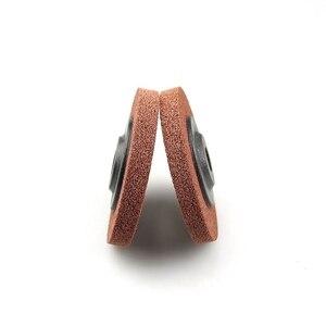 Image 4 - 10 adet 100*12*16 A/O olmayan dokuma birim parlatma tekerlek naylon taşlama diski açı öğütücü araçları yumuşak Metal kaplama