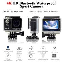 Gogloo action camera Gogloo6 4K kamera 40m waterproof sport camera WiFi video/ voice recorder 12million px Free shipping