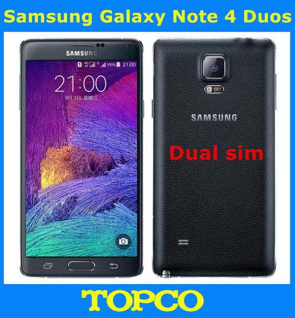 Samsung Galaxy Note 4 N9100 Original Unlocked GSM 4G LTE Android Mobile  Phone Quad Core 5 7