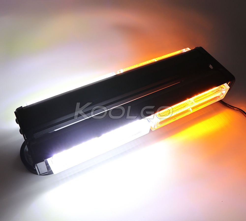 CYAN SOIL BAY 22 100W COB Roof Warning Lights Traffic Beacon Vehicle Strobe Light Bar Amber