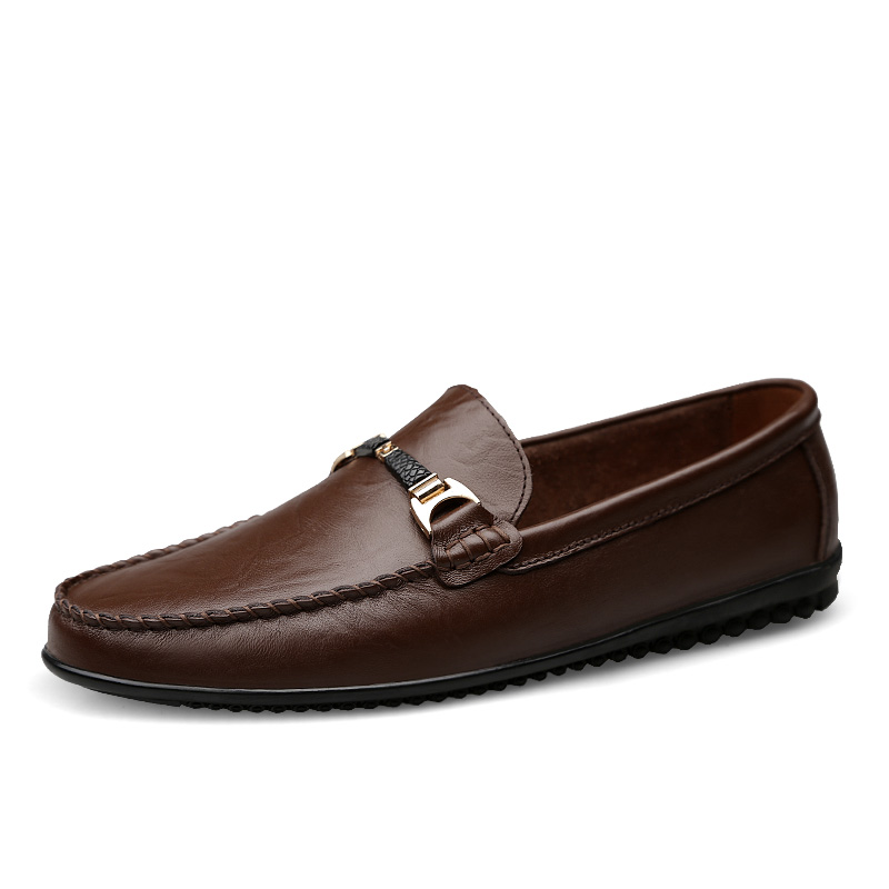 0edd536899a2d 2019 New Handmade Leather Loafers Shoes Men Footwear Fashion Fur ...