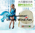 Portable Strong Wind Fan Ultra-quiet Mini USB Desk Fan Creative Home Office Hight Quality ABS Fans Silent Desktop Fan With Light