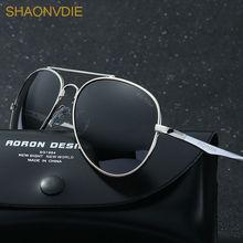 SHAONVDIE Men Classic Brand Sunglasses HD Polarized Aluminum Driving Sun glasses Luxury Shades UV400 Gafas Masculino sol 2017