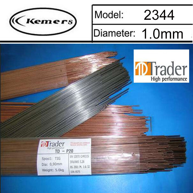 1KG/Pack Trader Mould welding wire 2344 pairmold welding wire for Welders 1.0mm LU0416 1kg pack gm mould welding wire trader 2344 pairmold welding wire for welders 0 8 1 0 1 2 2 0mm s012001