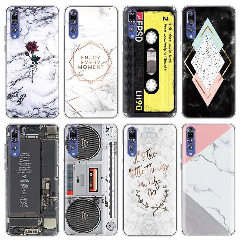 TPU Cases For Huawei P8 P9 P10 Plus P20 P Smart Mini 2017 Fundas Mate 20 10 9 Pro Lite Silicone Coque For Huawei P20 Lite Case
