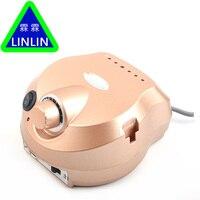 LINLIN 30000RPM Electric Drill Nail Art Polisher Tool Bit Machine Manicure Pedicure Kit Sand Band Accessory
