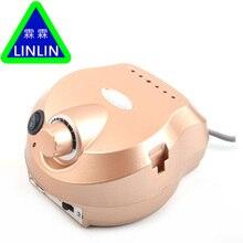 LINLIN 30000รอบต่อนาทีไฟฟ้าเจาะเล็บขัดเครื่องมือเครื่องบิตเล็บเท้าชุดทรายวงอุปกรณ์เสริมตะไบ