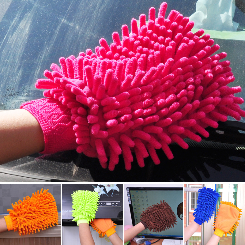 Chenille Gloves Clean Gloves Washing Towels Household Cleaning Helper Microfiber Cloth Cleaning Cloth For Car Desk office скатерть a promise household cloth 13