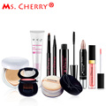 Naked Make up Set BB Cream Blush Eyeliner Mascara Lipstick Finish loose Powder Kits for Lady Gift City Elite MC001
