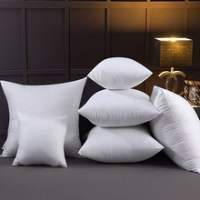 Solid color cushion core Memory cotton filling Multi Size optional It can be used as backrest pillow, pillow and ordinary pillow