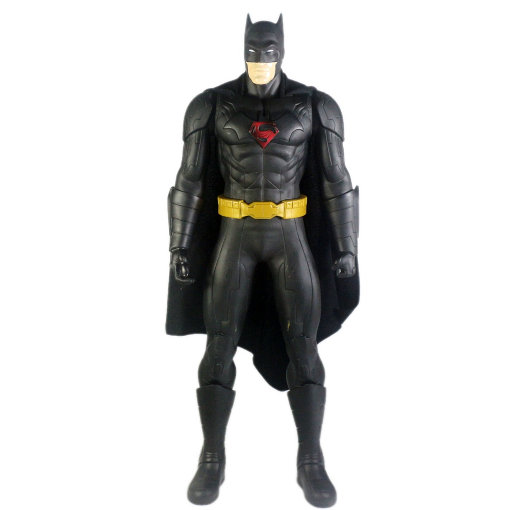 Super Hero Superman Batman World's Finest Action Figure Type B 19 Free Shipping free shipping super big size 12 super mario with star action figure display collection model toy