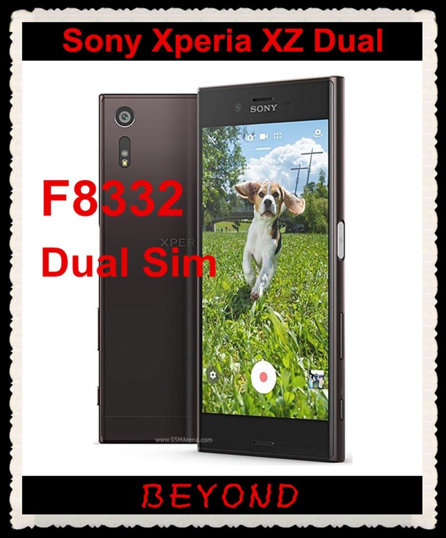 Sony Xperia XZ Dual F8332 Original Unlocked GSM Dual Sim LTE Android Quad Core RAM 3GB ROM 64GB 5.2