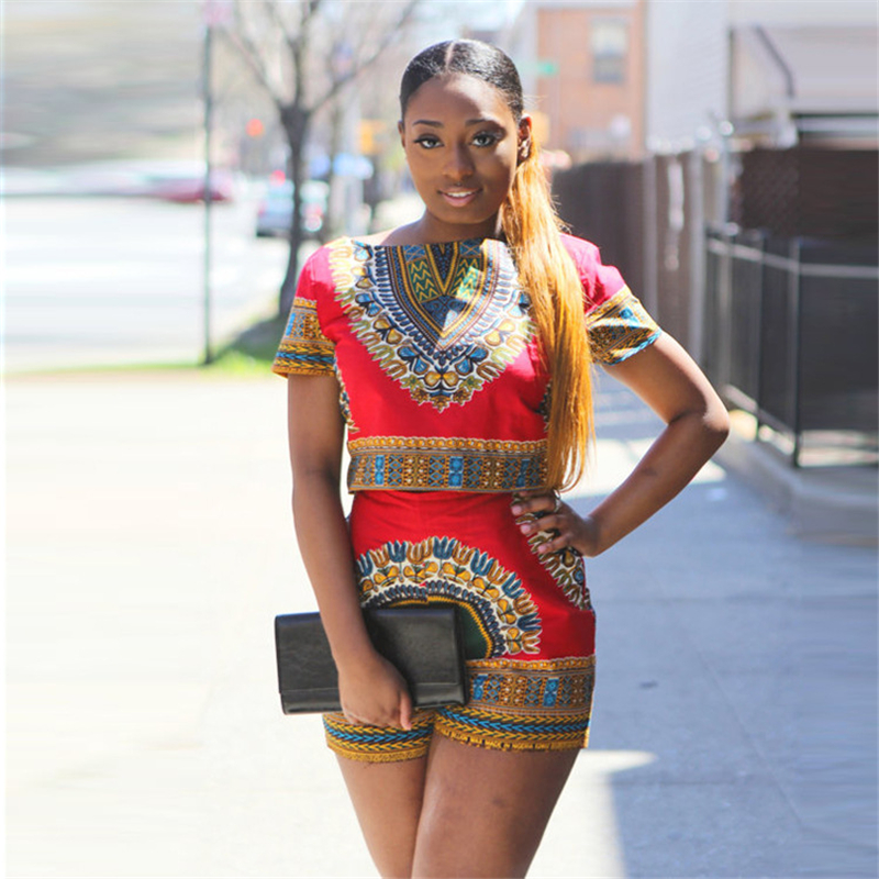 Free Shipping Summer African Traditional Printing Leisure South America Wind Africa High Elastic