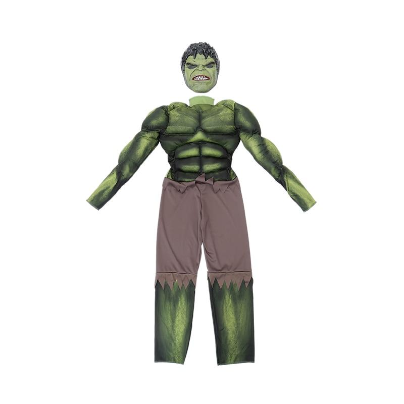 Fabrika Birbaşa Satış Oğlanlar Hulk Muscle Cosplay Geyim Uşaqlar - Karnaval kostyumlar - Fotoqrafiya 2