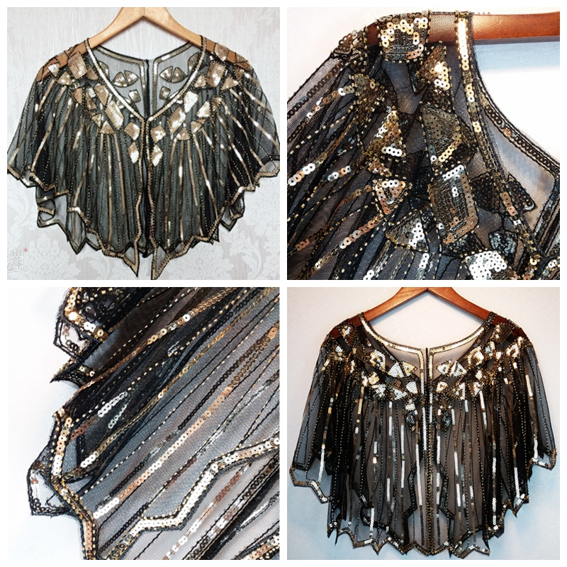b5560339db 1 Piece Ladies Shawl Wraps Sequin Pashmina Evening Dress Women Beach Cover  up Sunscreen Small Shawl Coat Summer Vest XLZ9424-in Women's Scarves from  Apparel ...