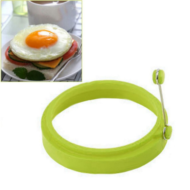 Egg tools Food Grade Silicone Egg Moulds Mold Hand Take Circle Egg Maker Happy Egg Rings Kitchen Supplies Newest