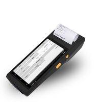 Ручной 1D 2D qr код pos терминал pos-терминал для Android с принтером и qr код сканер