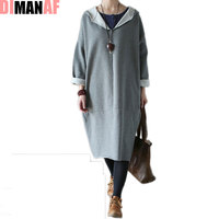 Plus Size Winter Women Hoodies Sweatshirts V Neck Thickening Warm Cotton Solid Fashion Female Loose Casual