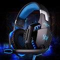 CADA G2000 Deep Bass Juego Rodeado Over-Ear Auriculares Estéreo Gaming Headset Diadema Auricular con la Luz para Ordenador PC Gamer
