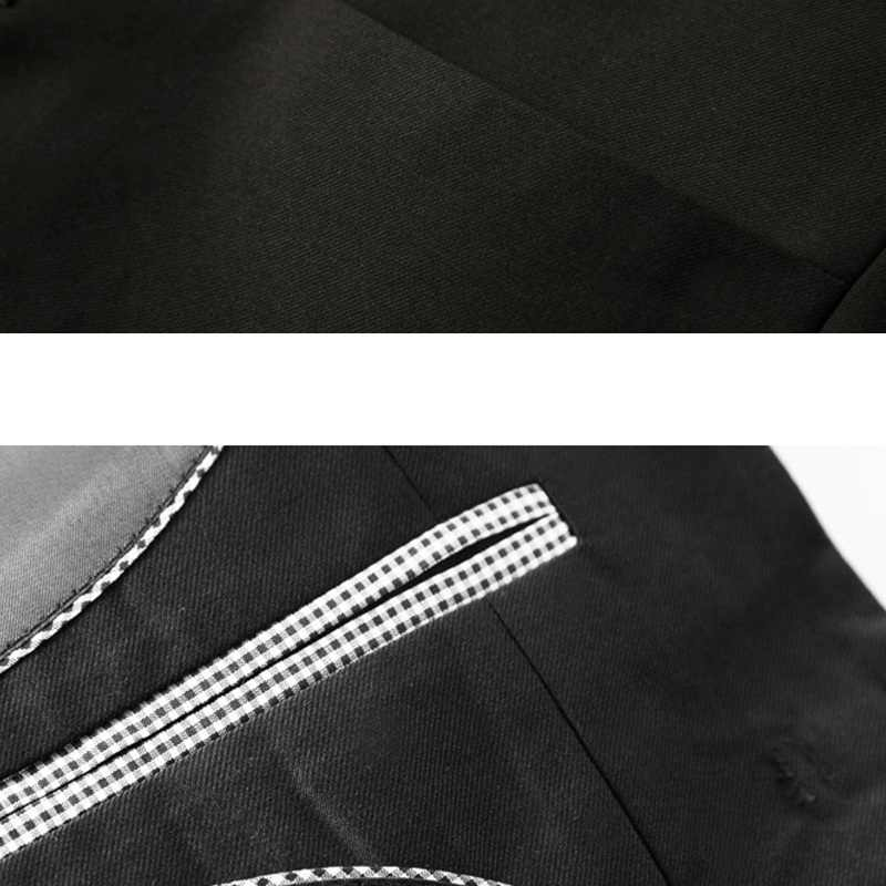 7d4e6ff12 ... Traditional Chinese Suit Jacket Frog Closure Single Breasted Mens Black Tunic  Suit Jacket Mandarin Collar