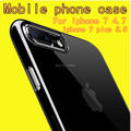 Mobile phone shell Mobile phone case For APPLE iphone 7 4.7 TPU Transparent Lithe Soft Anti-knock Mobile Phone Bag