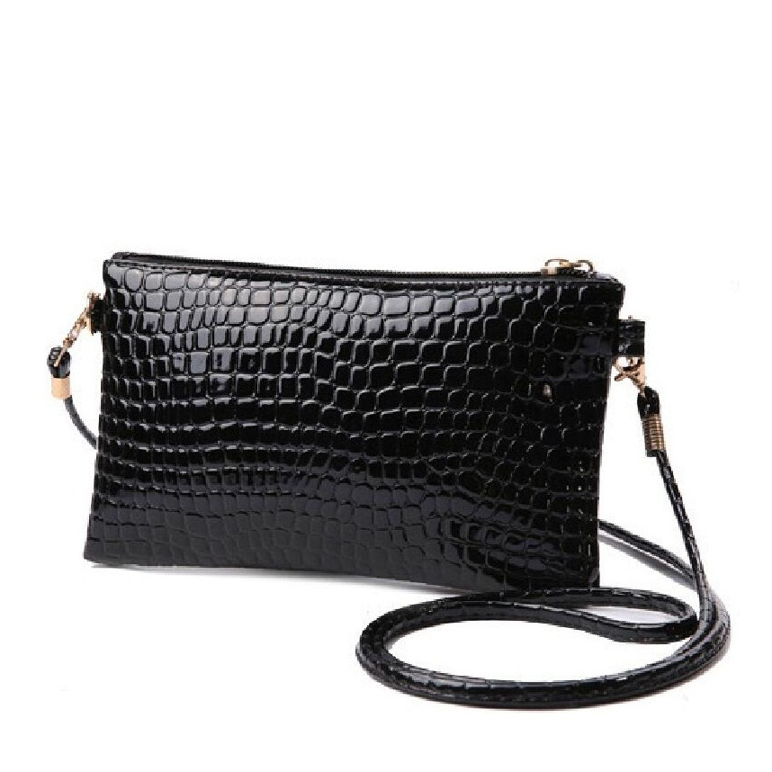 women bag offer High quality PU leather crocodile small shoulder All new summer tide women messenger bags lady clutch hand bag