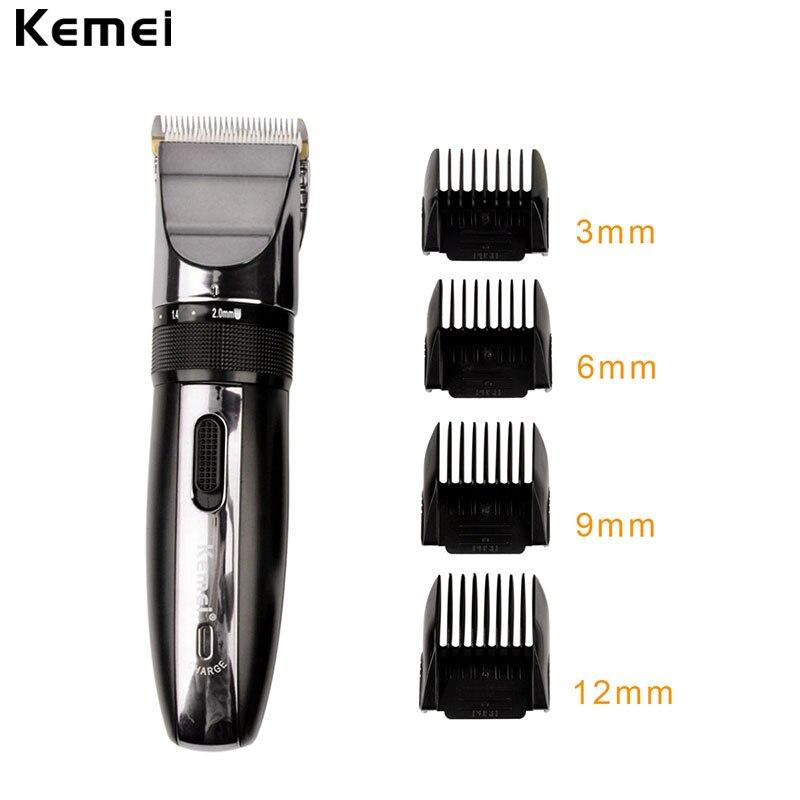 110-240V kemei Professional Hair Clipper Electric Hair Trimmer Haircut Beard Trimer For Men Trimmer Razor Shaver Hair Cutting
