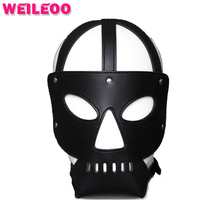 Skull shape sex mask slave bdsm sex toys for couples fetish mask sex toys bdsm bondage