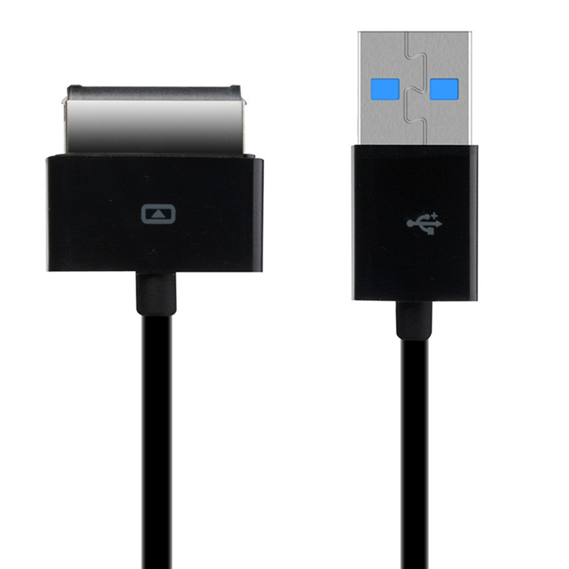 High Quality 1M 3FT USB 3.0 Data Sync Charging Charger Cable Line For Asus Tablet TF101 TF201 for TransFormer Prime Black New asus transformer prime tf300tg 3g купить