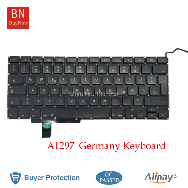 Germany Keyboards For Macbook Pro a1297 Keyboard Replacement 2009-2011