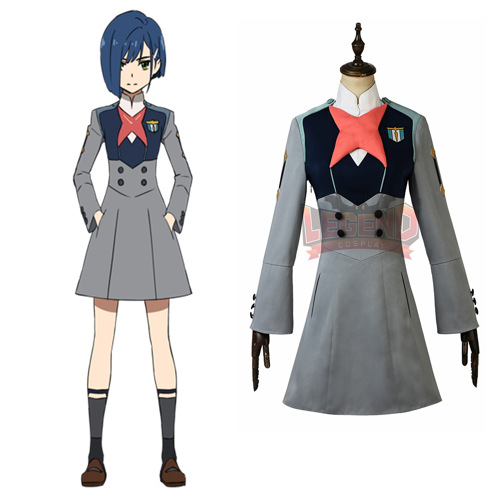 DARLING in the FRANXX CODE:015 ICHIGO Cosplay Costume adult custom made all size