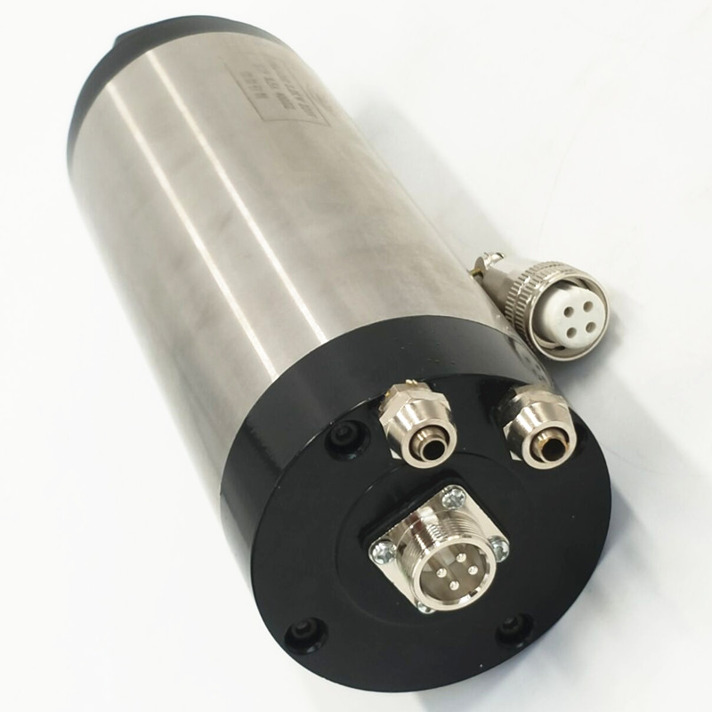 CNC 2200 W Water cooling Spindle Motor 220 110V 2 2KW 80mm ER20 water cooled spindle