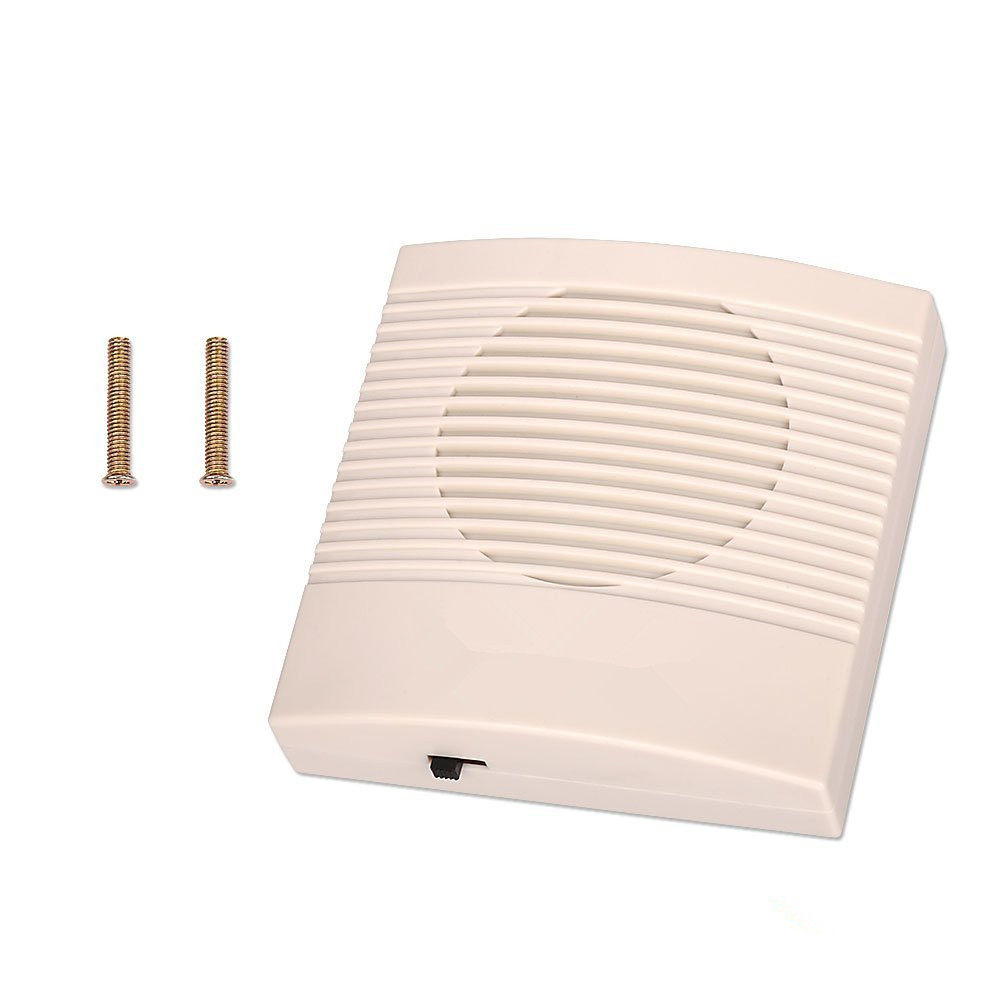Électronique Fil Filaire Sonnette Ding-Dong Sec Batterie ou Se Connecter à 12 V 3 Types de Sonneries pour La Maison Porte Système de Contrôle D'accès