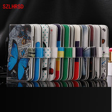 SZLHRSD For Prestigio Grace P5 5.0 Inch Case, New Arrival 12 Colors Factory Price Flip PU Leather Exclusive Case(China)