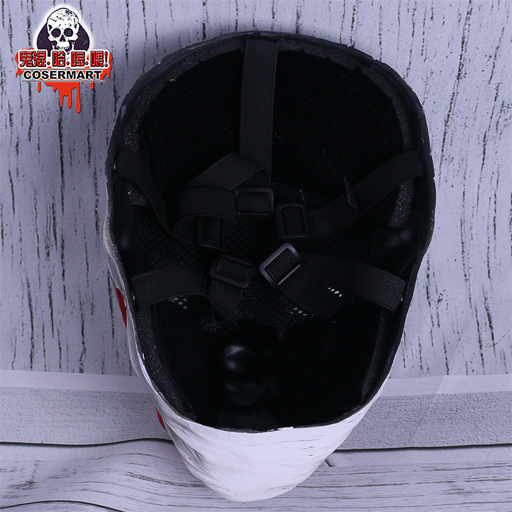 PAYDAY 2 Mask Rust Masks Game Payday 2 mask Cosplay Resin Red Nose Halloween Party Prop (8)