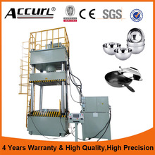 Four Column Auto Carbon Filter Moulding Hydraulic Press Machine 1000T