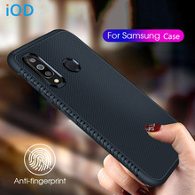 IQD สำหรับ Samsung A50 A30 S10e S10 Plus กรณี Slim Fit สำหรับ Galaxy S10e M30 M20 M10 Ultra บาง S9 S8 Plus Protection Case(China)