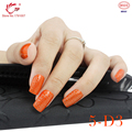 TP Brand New Trendy Crackle Style Nail Art Polish Gel UV LED Light Manicure Collection #5 with D3 Color Gel Polish