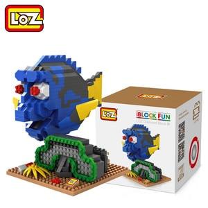 Image 3 - Bloc de construction LOZ, personnages daction, diamants, jouets et cadeaux de noël, 9726