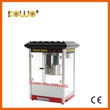 Автоматический Электрический ce попкорн машина 220 В 1760 Вт защита от перегрева 1 лоток/3 мин. 12 унц. попкорн чайник бытовая техника