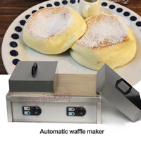 Electricity Waffle machine Automatic waffle maker Commercial thicken muffin machine pancake machines new snack equipment 220v