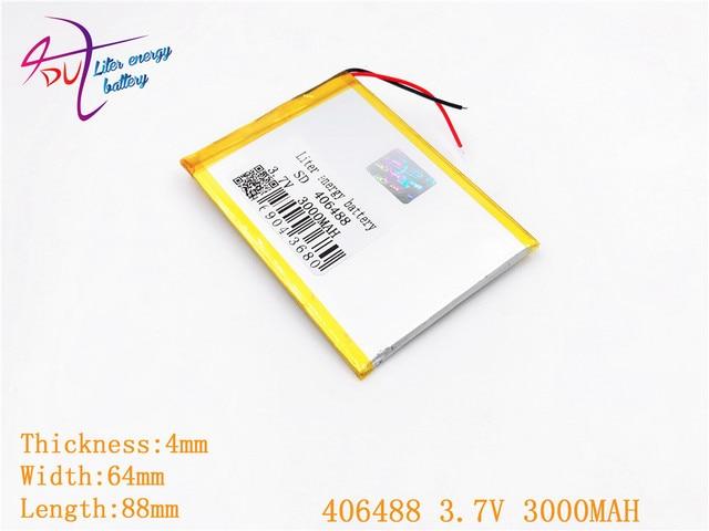Imballaggio di sicurezza Anti Statica Shelding Sacchetto 406488 3.7 V 3000 MAH 406590 Li Ion batteria Tablet pc Per Il 7,8, 9 pollici agli ioni di litio Polimero