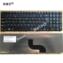 Клавиатура с английской раскладкой для ноутбука Acer aspire 5410 5252 7740G 7750 7741G 7741Z 7745G 8942 8942G 5560G 5560 (15 дюймов) 5551 5552 5552g 5553 8940
