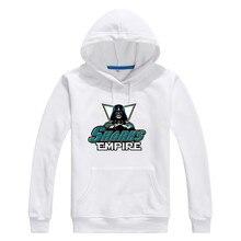 2017 Sharks Empire  Star Wars Darth Vader Men Sweashirt Women san jose warm hoodies 0104-14