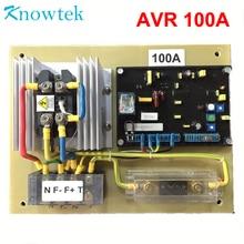 AVR 100A автоматический регулятор напряжения генератор регулятор напряжения переменного тока стабилизатор GAVR
