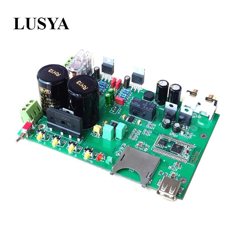 lusya class a pass a3 single ended audio power amplifier board diy kit 30w 30w finshed board Lusya Bluetooth 4.2 LM1875 audio power amplifier board ES9023 DAC decoding board 30W+30W