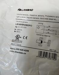 Darmowa wysyłka 100% nowy LR18XBN08DPO czujnik zbliżeniowy czujnik
